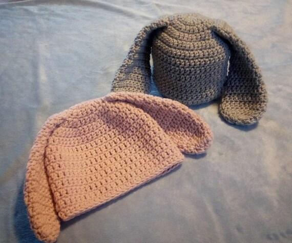 Pink Bunny Hat 3-6M