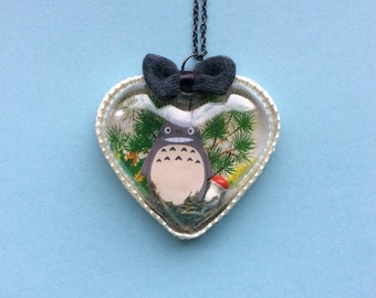 Totoro Diorama Necklace