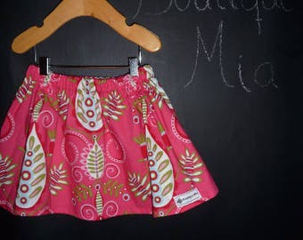 Sample SALE - Will fit Size 12 month to 2T - Ready to MAIL - SKIRT - Maxfield - by Boutique Mia