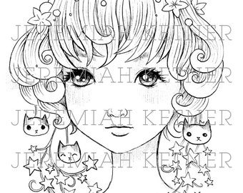 Begin - Coloring Page