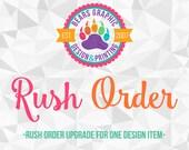 Rush Design Order for Priscilla