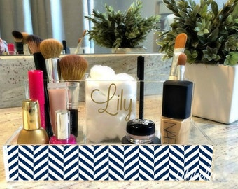 Make-Up Organizer - Custom Makeup Organizer - Cosmetics Organizer-Personalized Makeup Organizer-Acrylic Makeup Organizer - Acrylic Organizer