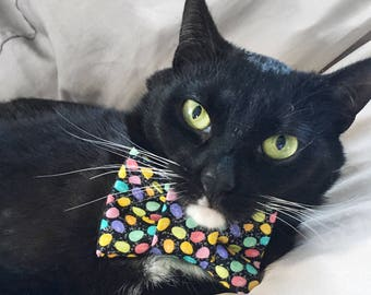 Easter Egg Bow Tie for Cats