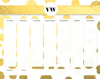Shine On 2017 Weekly Calendar - DIGITAL ONLY