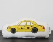 Mini Plush NYC Taxi