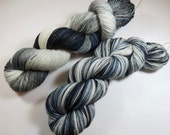 Hand Painted 2-Ply Superwash Merino and Nylon Sock/Fingering -- Game of Thrones -- Winter is Coming