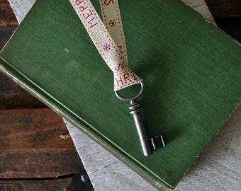 Antique Santa Key - Santas Magic Key - Christmas Key - Skeleton Key Christmas Ornament