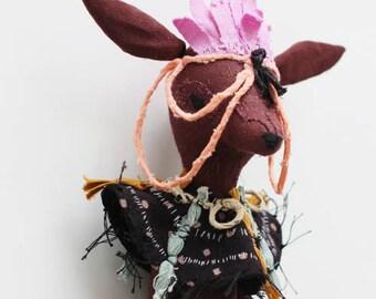 ISINA - Tribal Art Doll
