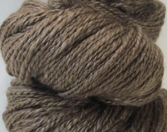 Soothing Tones -- Handspun, Hand dyed, Alpaca, Silk, 4 oz/116 gr, 225 yds/206 m