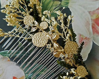 Bridal Hair Comb Wedding Hair Comb Accessories Headpiece Hair Jewelry Flower Crystal Pearl Embellished Cocktail Accessories