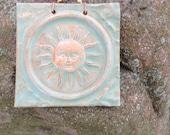 The SUN Tile in Sage Green