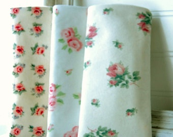 Eyeglass Sunglass Laura Ashley Soft Case Handmade some retired prints pink roses multiple prints under five dollars glasses cases eyewear