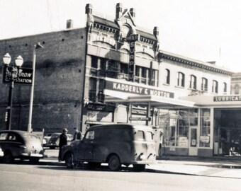 vintage photo 1950s Kadderly & Morton Garage Gas Station Portland Oregon Sunderleaf architect