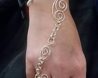 Slave Bracelet in 14k Gold Filled