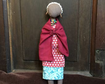 Honoring Diversity Collection:  Maasai lady