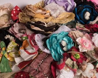10 Random Headband Lot - Newborn, Toddler & Girls Headband Photo Studio Photography Props