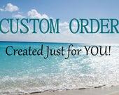 Custom order for DEB Sea Glass Jewelry Sea Glass Necklace Aqua Sea Glass Pendant N-480