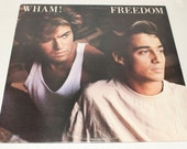 George Michael ,Wham, Vinyl Record Album 1985, Freedom, Long Mix Single