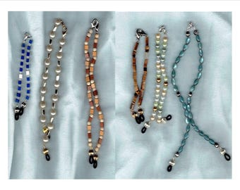 6 Eyeglass Chain Add-ons - Women's Eyeglass Holders Necklaces - Glasses Chain - Glasses Holder - Eye Glass Chain