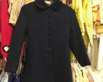 1960s Girls Coat 8/10