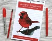 2017 Wall Calendar - Bird Calendar - 2017 Calendar - Art Calendar -Bird Lover Gift- Art Sampler - Under 25