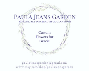 Custom Wedding Flowers for Gracie Inspired Romance and Lace Brides  Bouquets Boutonnieres Corsages Bulk Lavender Dried Flowers