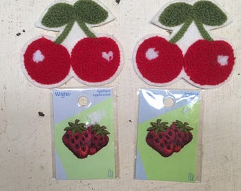 Cherry & Strawberry Appliqués
