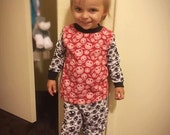 Toddler Jack Skellington Print Pajamas in Size 3T for Boys or Girls