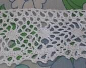 Vintage Cotton Lace - Handmade Lace