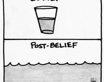 Belief and Post-Belief CARTOON