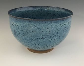 Ceramic soup bowl, cereal bowl, blue bowl, ric bowl, noodle bowl, serving bowl BR1