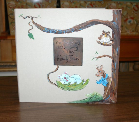 Our Little Twig a Forrest Animal Baby Memory Book