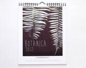 "2017 Wall Calendar | Botanical Photography | Stocking Stuffer | 8x10 Calendar ""Botanaica"""