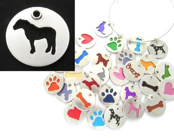 Barb Horse Sterling Silver Necklace Pendant Charm - Lots of Colors