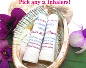 Aromatherapy Inhalers - Nasal Inhalers, Pick Any 2, Holistic Product, Herbal Product, Aromatherapy, Natural Products