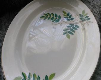 Rare Edwin Knowles  Fernwood Platter circa 1950's