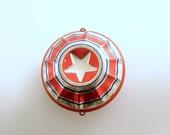 Vintage Christmas Ornament Metal Ornament Star USA Rare Christmas Decoration