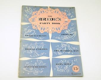 Vintage Brides Party Book Vintage Wedding Bridal Shower Gift Announcements Patterns