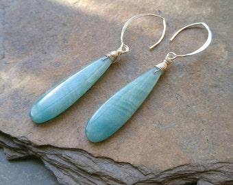 Amazing Amazonite Earrings
