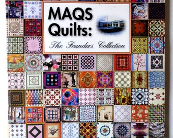 Quilting Book - MAQS QUILTS  - Illustrated - Quilting Book - Craft Book - Pattern Book