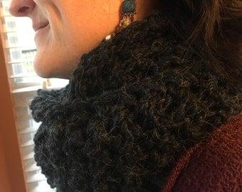 Dark Grey Infinity scarf