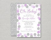 Glitter Dot Baby Shower I...