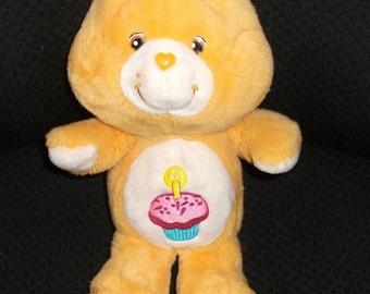 Vintage Birthday Care Bear Plush Doll