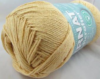 Bernat Handicrafter Cotton Yarn 14 oz. Ball COUNTRY YELLOW