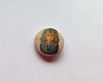 2 Buttons Ägypten Tutanchamun und Anch