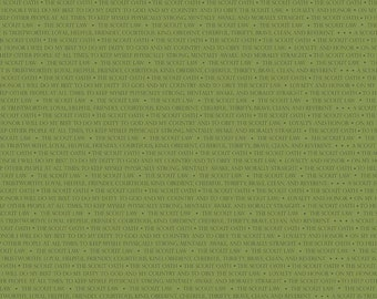Scout Words Green (C6203-Green)
