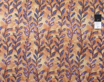 SALE Costa De Las Flores Diamond Stripe Aqua Quilting Cotton Fabric By Yard