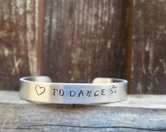 DESIGN YOUR CUFF!! Custom Hand Stamped Cuff Bracelet, With your custom saying!!