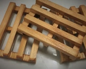 Wooden Soap Rack