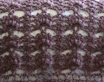 Download Now - CROCHET PATTERN Ramble in the Woods Afghan - Make to Any Size - Pattern PDF